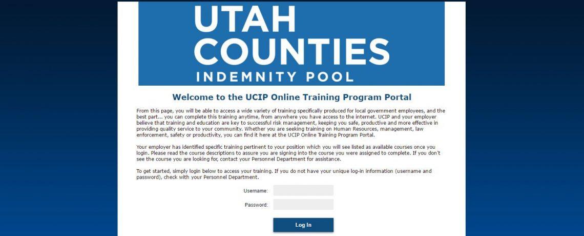 UCIP Online Training Program